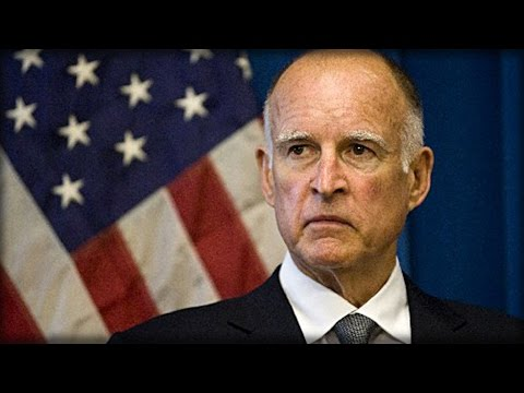 WITH 1 SICK WORD GOV JERRY BROWN JUST INSULTED EVERY SINGLE TAXPAYER IN CALIFORNIA