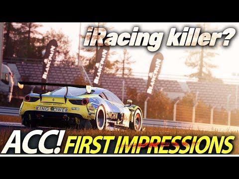 Assetto Corsa Competizione - iRacing killer? First impressions.