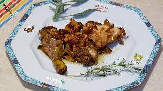 170 - Pollo agli aromi...c'è chi c'ha preso i diplomi! (secondo piatto di carne morbida e succosa)