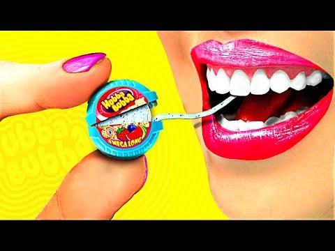 100 TIMES!!! DIY Miniature Hubba Bubba! So cute!