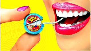 100 TIMES!!! DIY Miniature Hubba Bubba! So cute!