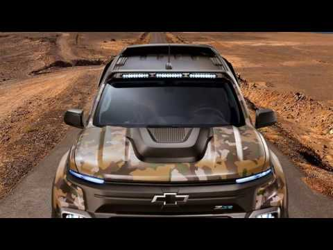 WOW!!! Chevrolet Colorado ZH2 Concept