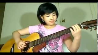 Trieu Doa Hong - Million Scarlet Roses - Virginia Nguyễn Guitar