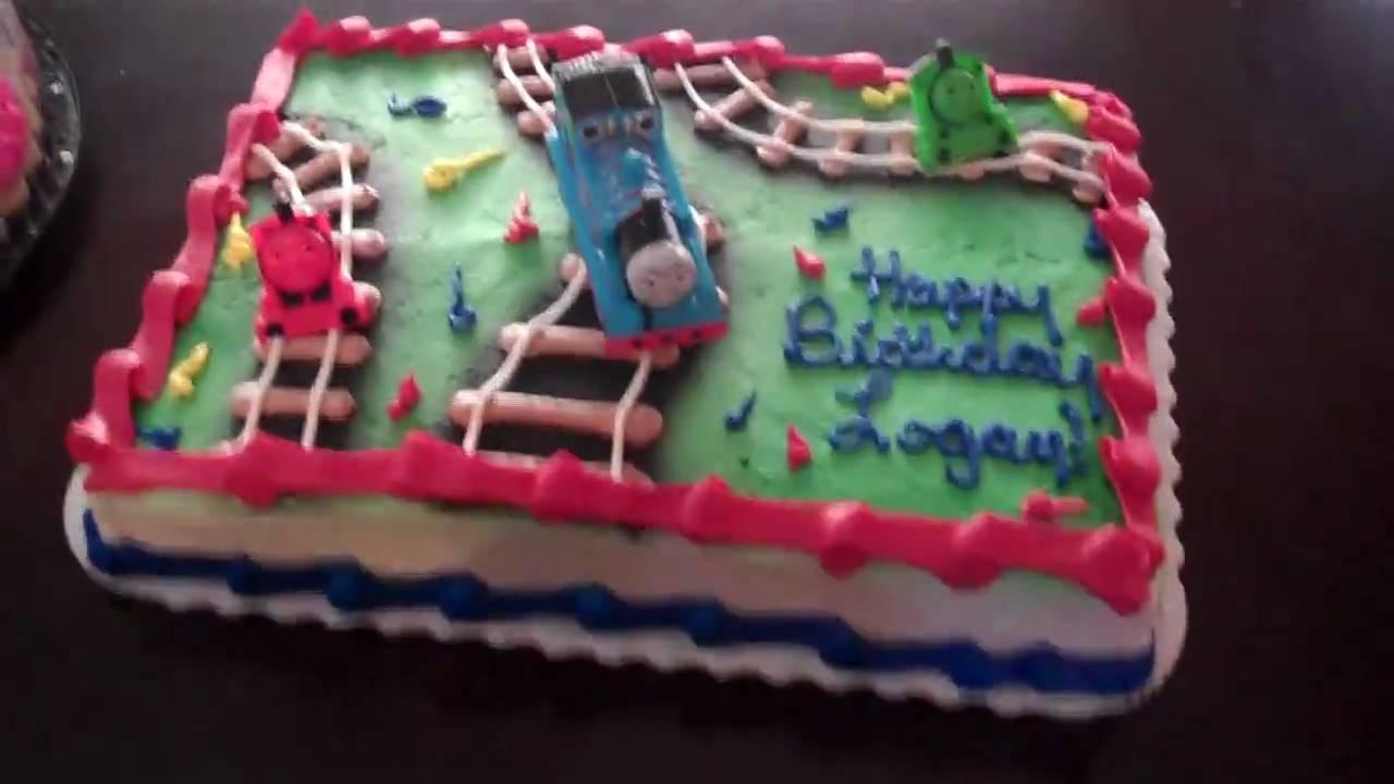 Logan Thomas Birthday Cake Youtube