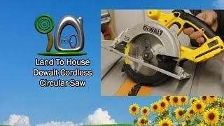 Dewalt Cordless Circular Saw Review