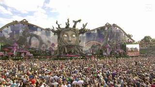 Basto -  Love Is Darkness @Tomorrowland 2011