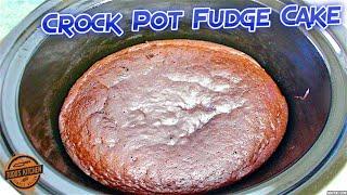 Crock Pot Chocolate Fudge Cake recipe - How to make video