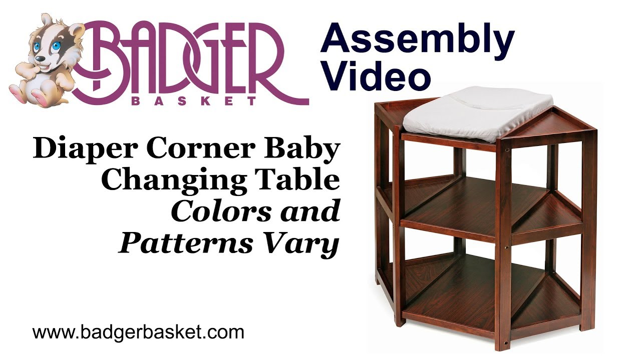 02207 Badger Basket Diaper Corner