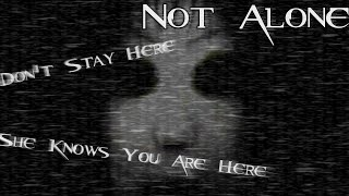 SHE KNOWS YOU ARE HERE... | Not Alone - Hospital Terror [Indie Horror Game]
