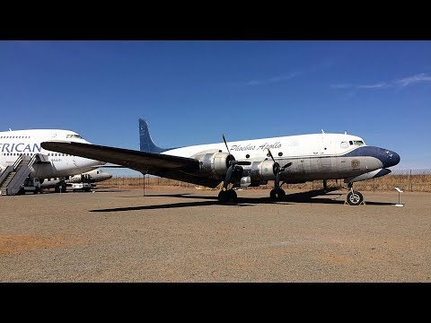 South African Airways Museum Aircraft Park