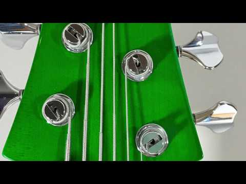 """Well's FBass 33"""" scale BN6 with birdseye maple ramp and fingerboard"""
