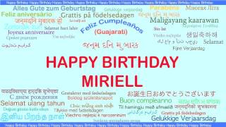 Miriell   Languages Idiomas - Happy Birthday