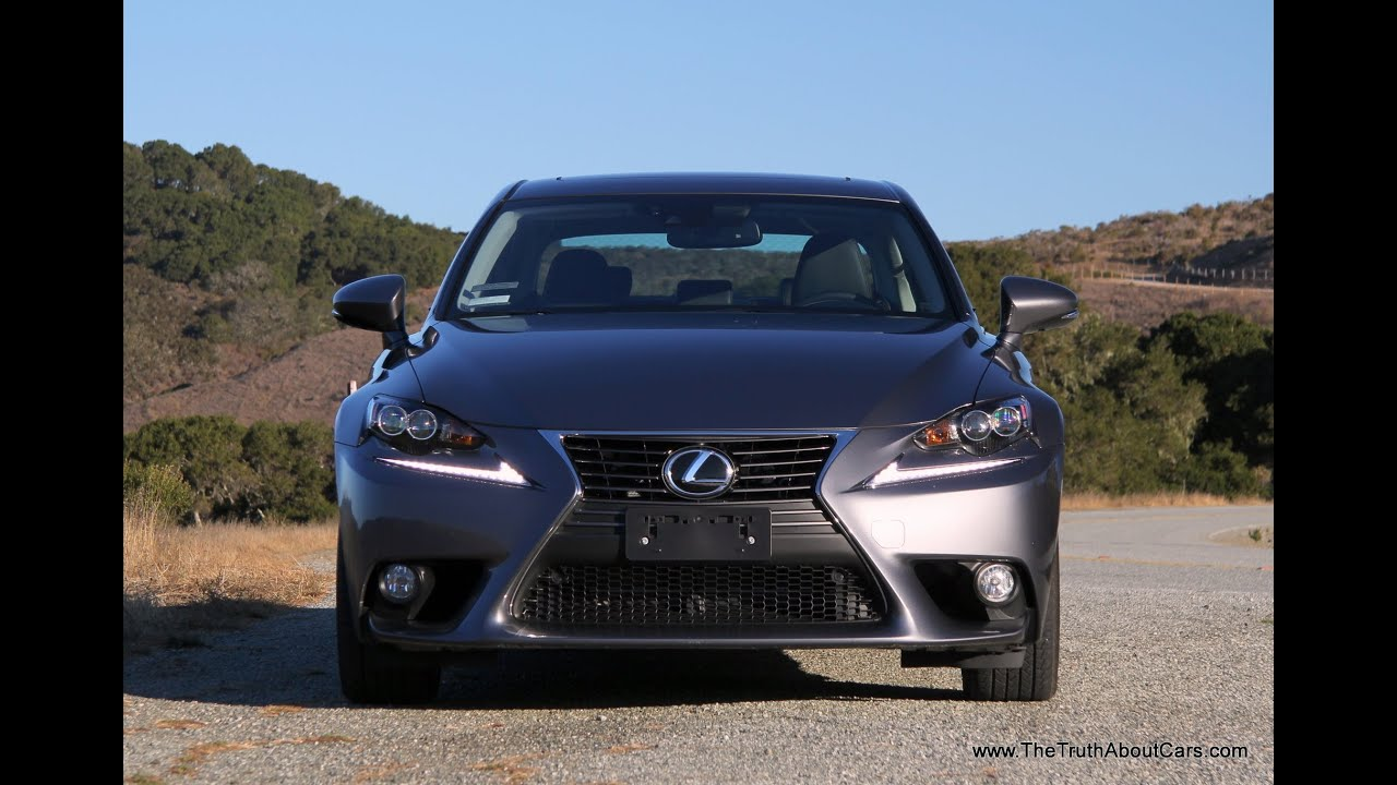 2014 Lexus IS 250 Review and Road Test - YouTube