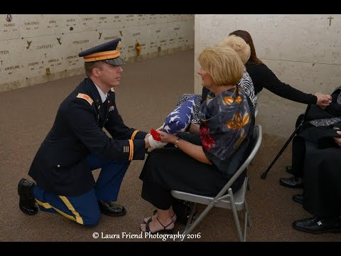 "Military Funeral Anthony ""Tony"" Marino   United States Army Services 8 October 2016"