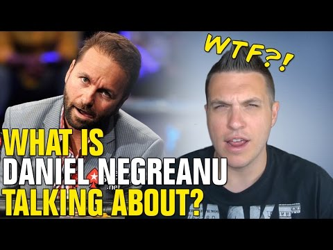 Daniel Negreanu Says More Rake Is BETTER?!