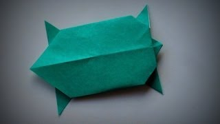 Origami - How To Make A Turtle