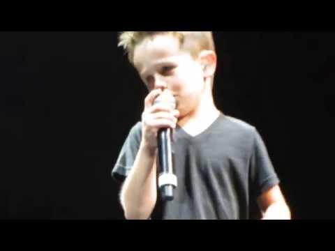 Griffin McIntyre Sings Tonight NKOTB NYC 6-22-15