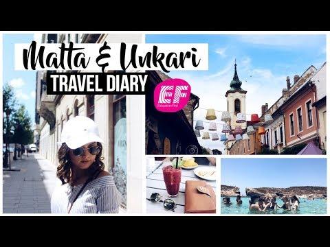 Malta & Unkari Travel Diary // EF Kielimatka