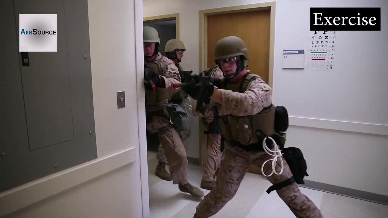 Marine Corps Building Raid Active Shooter Exercises At