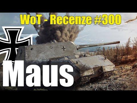 World of Tanks   Maus + SOUTĚŽ o ceny a kódy na M41D (Recenze #300) thumbnail