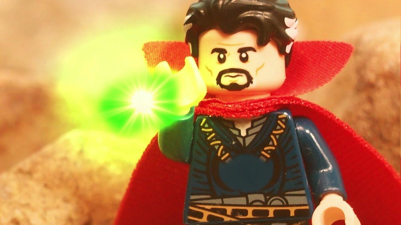 Lego Avengers Infinity War Doctor Strange gives Thanos the ...