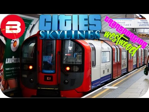 Cities Skylines Gameplay - INNER CITY METRO (Cities: Skyline