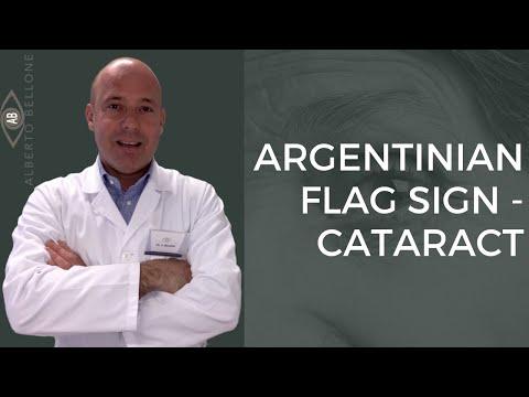 ARGENTINIAN FLAG SIGN Dott. Alberto Bellone MOD Eye Clinic Torino