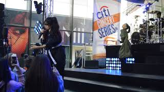 Camila Cabello performs ''crying in the club'' on todayshow