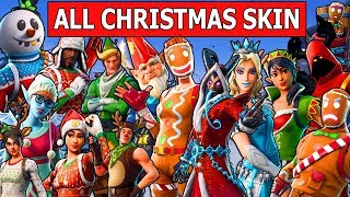 Gambar cover ALL CHRISTMAS SKINS in FORTNITE! *SEASON 1 - CHAPTER 2*