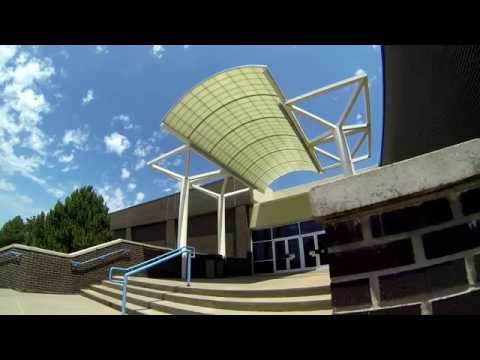 Barton campus tour with GoPro