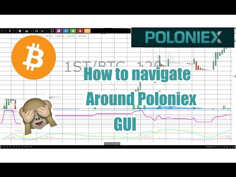 Navigate The Poloniex Trading Interface (cryptocurrency)