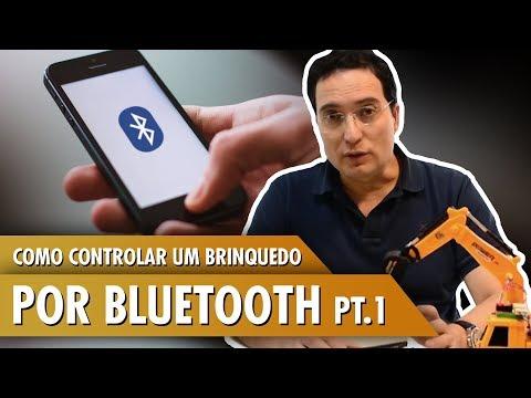 Como controlar um brinquedo adaptado com arduino pelo bluetooth (APP) - Tutorial parte 1