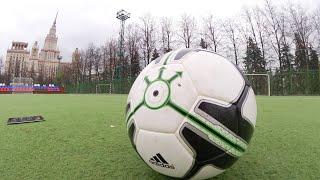 Умный футбольный мяч - тест smart ball от adidas