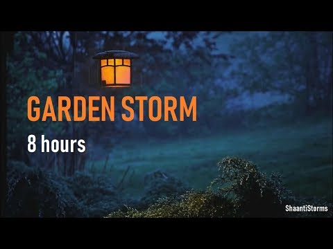 Heavy Thunderstorm and Rain Sounds - 8 Hours For Sleep Study & Relaxation