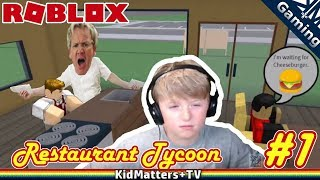 Rage against the Restaurant. Crazy staff | Roblox Restaurant Tycoon...