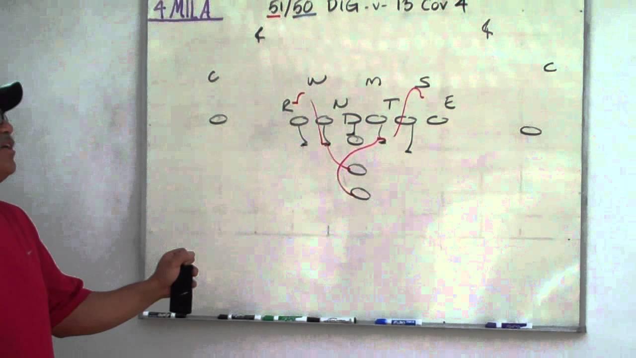 4Mila, Coach Coco boardwork on 51 / 50 Dig -v- 13 cov 4