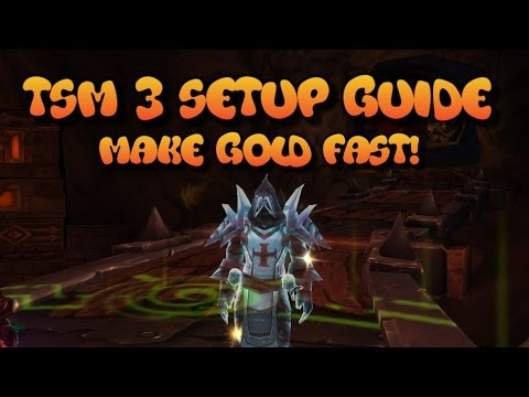WoW Gold Guide: TSM 3 - Hit GoldCap using Enchanting / Profession