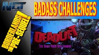 BORDERLANDS: THE PRE-SEQUEL! Badass Challenges▐ Regolith