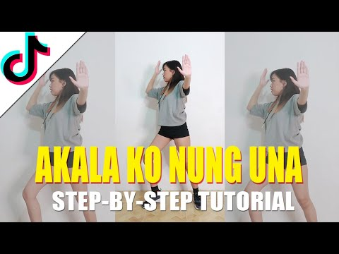 AKALA KO NUNG UNA Tiktok Tutorial (Step-by-step) | Rosa Leonero