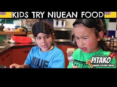 Niuean Food Taste Test - Jess & Ayva -