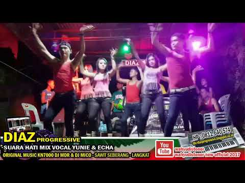 DJ DIAZ LIVE SOUND JAIPONG BREAKBEAT SUARA HATI MIX VOCAL YUNDA & ECHA DIAZ PROGRESSIVE VIDEO 2017