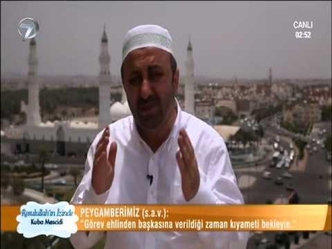 ömer döngeloğlu  30 resulullahin izinde   kuba mescidi   youtube