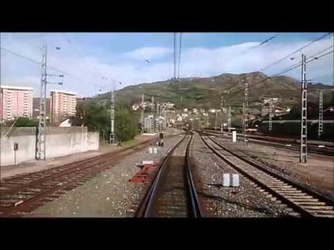 Rail View A Coruña - Santiago de Compostela - Monforte de Lemos