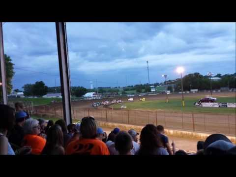 Fayette County Speedway - Xcel 600 Mod Feature - 6-3-16