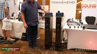 Townshend Audio Seismic HiFi Isolation Products Demo @ Festival of Sound 2018