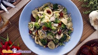 Orecchiette With Broccoli Anchovies And Sun-dried Tomatoes - Italian Recipe