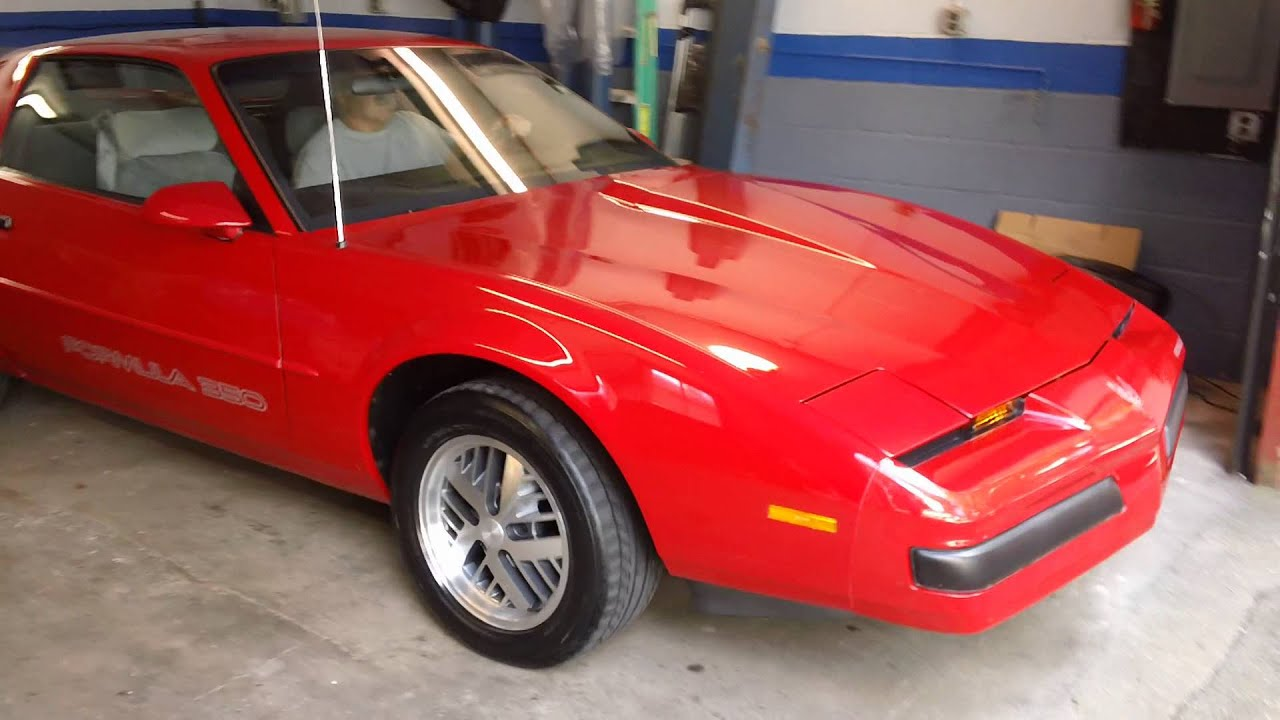 1987 Firebird Formula 350  YouTube