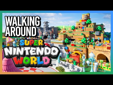 Walking-Around-Super-Nintendo-World-Universal-Studios-Japan