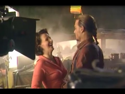Download Chocolat rare collection of behind the scenes moments with Johnny Depp