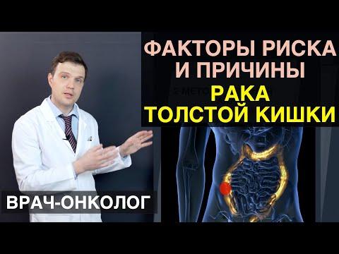 Рак толстой кишки - факторы риска и причины толстой кишки, прямой кишки и ободочной кишки
